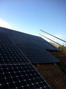 2 94kW Sunpower Solar Panel Install in Honiton | Solar Roof