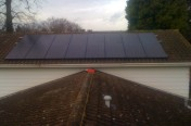 4kW Installation - Walton on Thames - LG Panels