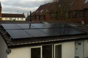 2.5kW Installation - Sutton -  LG Panels