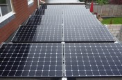 3.92kW Installation - Whitton - 12 Sunpower panels