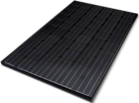 Lg Monox Black Solar Pv Panel Solar Roof Installations