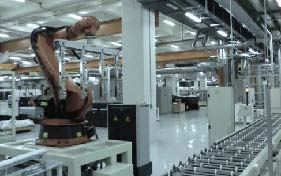 TSMC Solar Panel Production Line