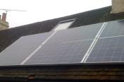 1.68kW REC Solar Panel Installation in Peaslake, Surrey