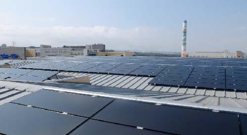 TSMC Commercial Solar PV Installation